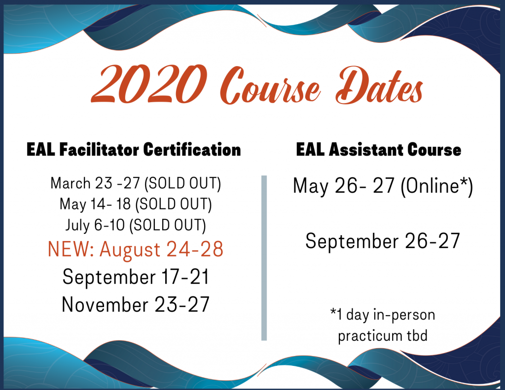 EAL Course Dates
